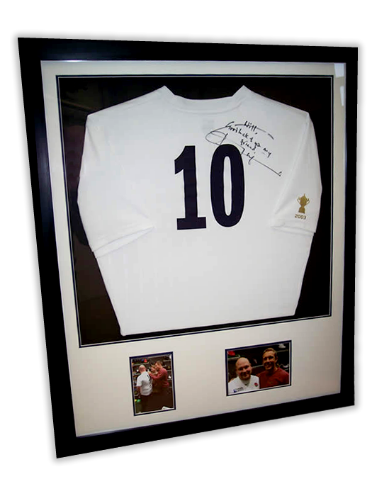 Sport Shirt Framing